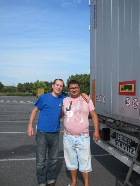 Zdravko, a driver from Bulgaria