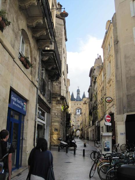 The streets of Bordeaux