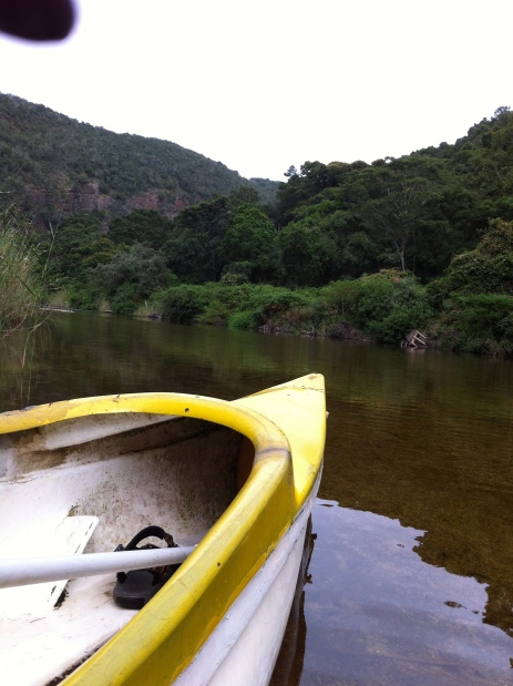 Canoeing on the Touw, the Golden River
