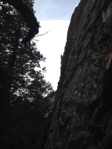 Climbing at Yosemite