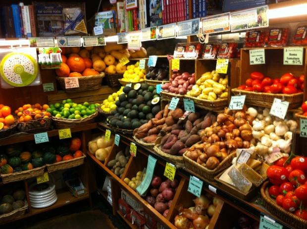 Bi-rite organic store