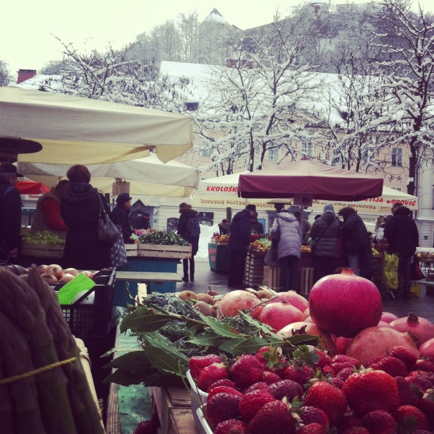 Capital market, Ljubljana