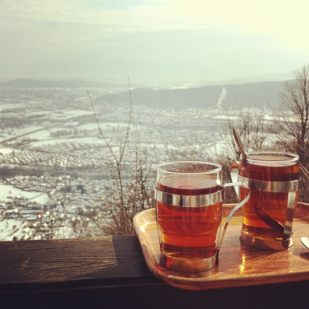 The view from Shmarna Gora